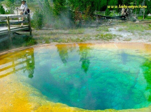 Озеро Утренней Славы - очень красивое озеро