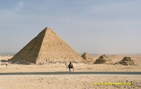 Прамиды Египта. Пирамида Микерина