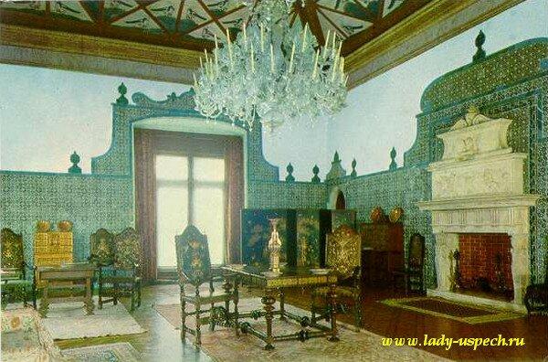 Пасо Реал. Национальный дворец Синтра. Португалия.