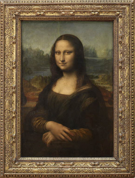 Леонардо да Винчи. Портрет госпожи Лизы дель Джокондо (Мона Лиза)(Ritratto di Monna Lisa del Giocondo)
