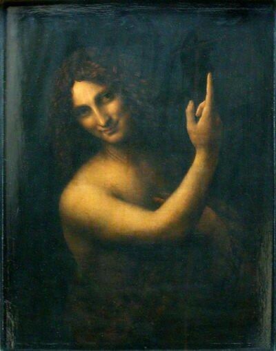 Леонардо да Винчи. Святой Иоанн Креститель.