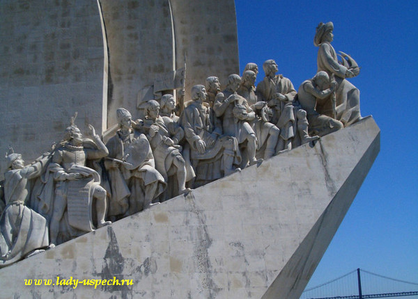Португалия. Монумент первооткрывателям