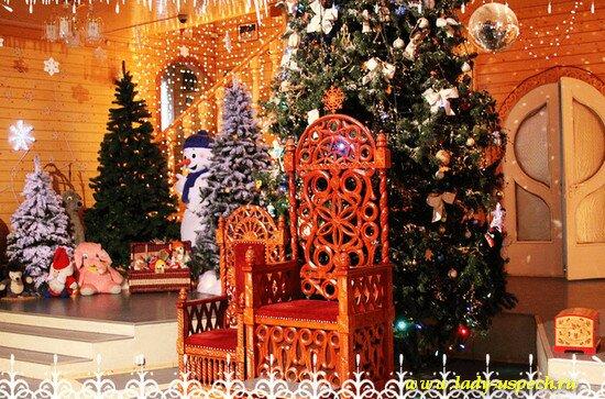 Вотчина Деда Мороза. Великий Устюг. Тронный зал