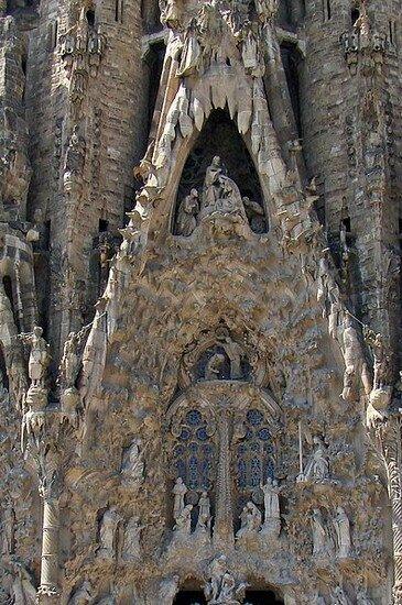 Барселона Гауди. Собор Саграда Фамилия