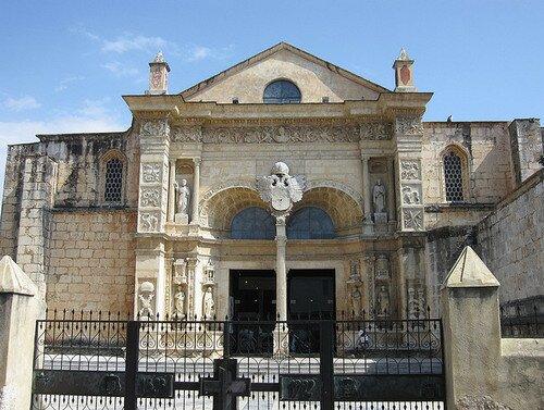 Собор Санта Мария ла Менор в Санто-Доминго-де-Гусман. Доминикана