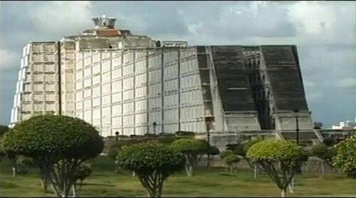 Маяк Колумба в Санто-Доминго-де-Гусман. Доминикана