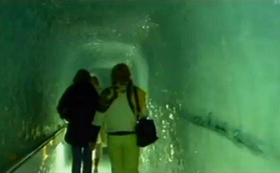 ледовый музей в леднике горы Эйгер