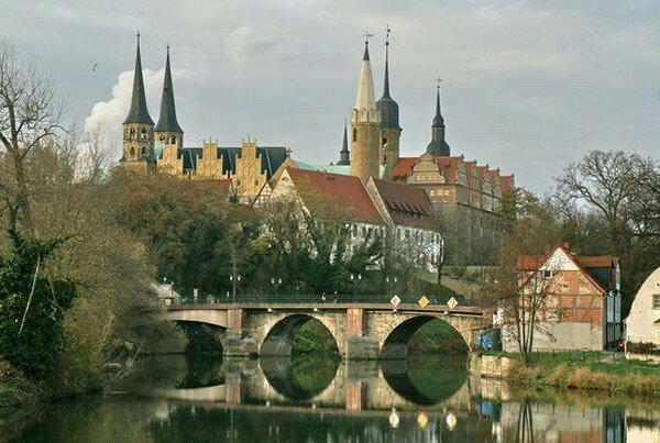 Мерзебург. Восточная Германия