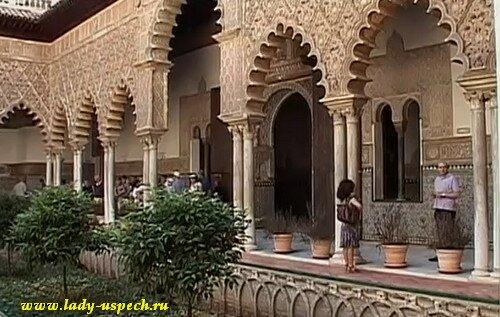 Севилья Испания Дворец Алькасар