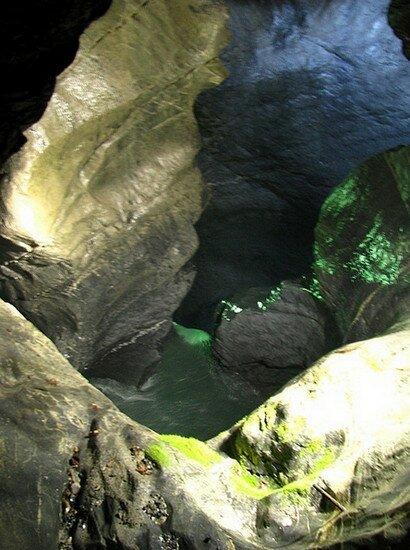 Водопад Труммельбах (Грохочущие барабаны) Швейцария
