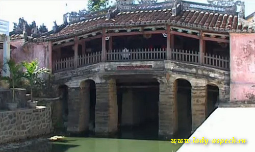 Городок Хой-Ань Вьетнам. Японский мост