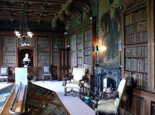 Библиотека Абботсфорд. Дом Вальтера Скотта Шотландия