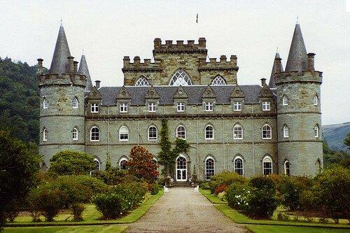 Замок Инверари Шотландия