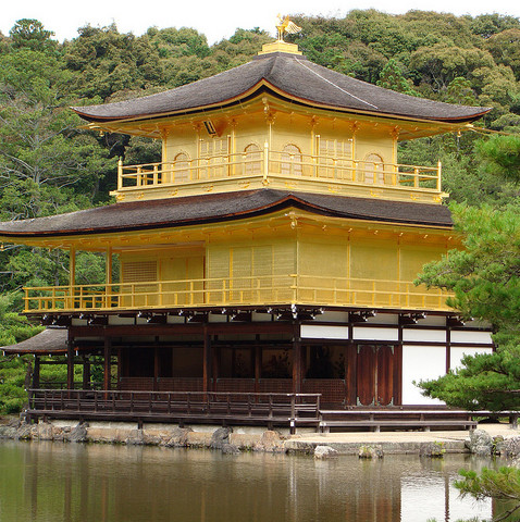 Храм Кинкаку-дзи «Золотой павильон»