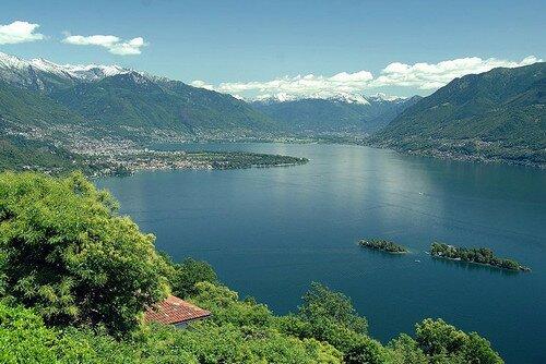 Озеро Маджоре Италия
