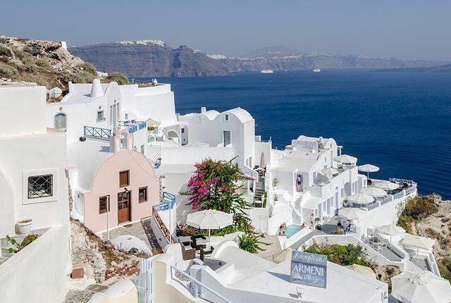Остров Санторини. Ойя. Греция