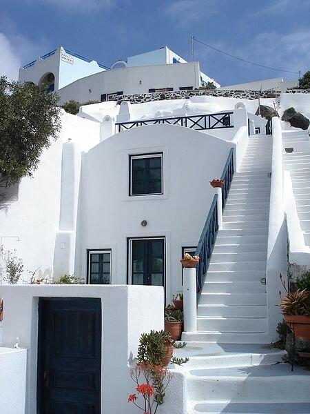 Остров Санторини. Фира. Греция