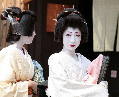 Японские гейши Киото