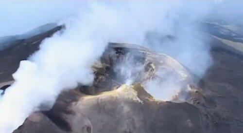 Вулкан Этна Сицилия