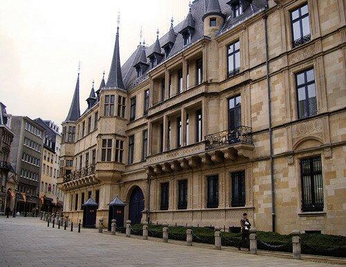 Люксембург, Герцогский дворец