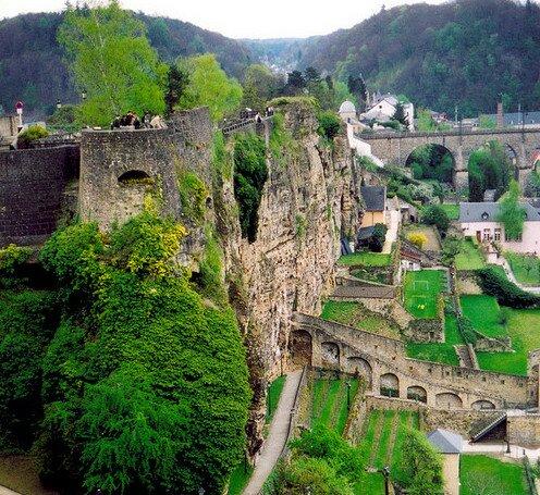 Люксембург, Верхний ярус