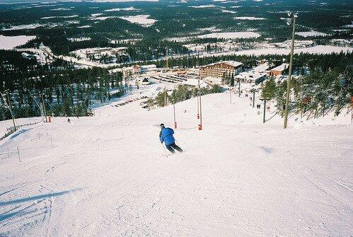 Курорт Рука Лапландия Финляндия