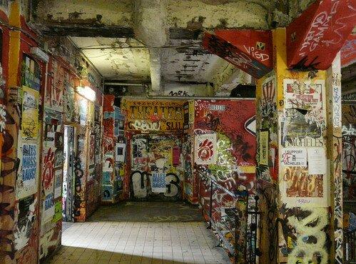 Сквот «Тахелес» Берлин