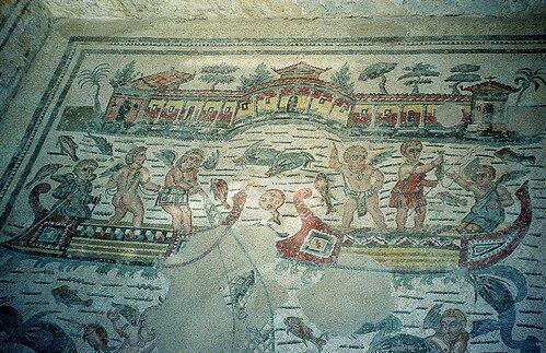 Сицилийское сокровище вилла Дель-Казале