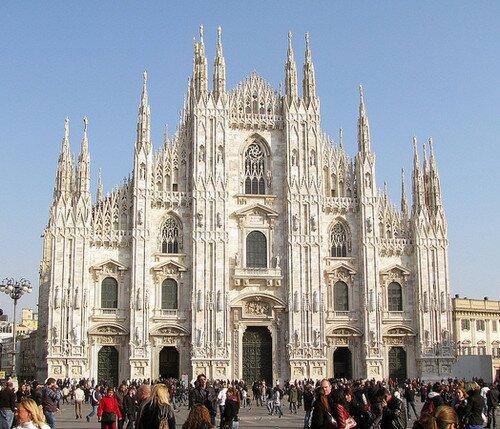 Собор Дуомо Милан, Италия
