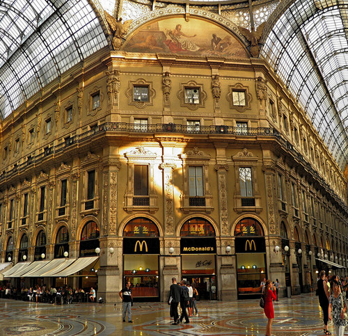 Галерея Витторио Эммануэле Милан, Италия