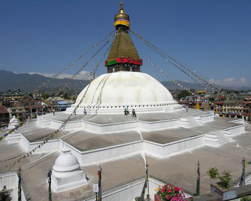 Храм Будданатх Катманду, Непал