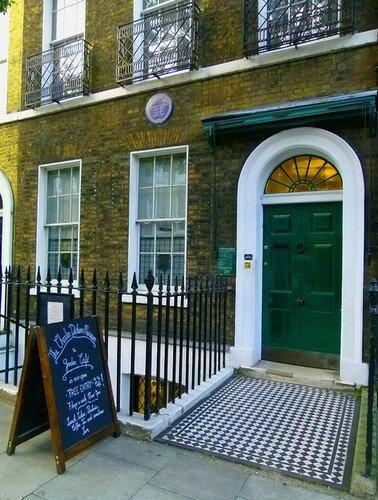 Город Лондон. Дом Чарльза Диккенса