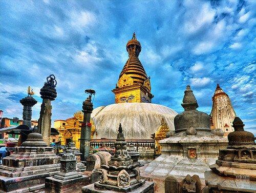Храм Сваямбунатх Катманду, Непал
