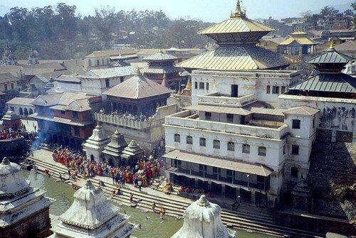 Храм Пашупатинатх Катманду, Непал