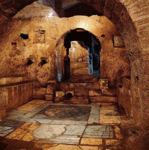 Большой цирк (Circus Maximus) в подземном Риме