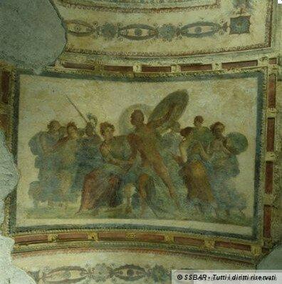 Domus Aurea Золотой дом Нерона в Риме