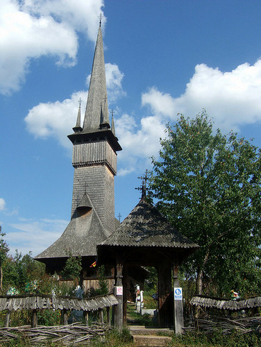 Деревянная Церковь архангелов Михаила и Гавриила в Плопише