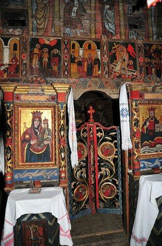 Деревянная Церковь архангелов Михаила и Гавриила в Рогозе