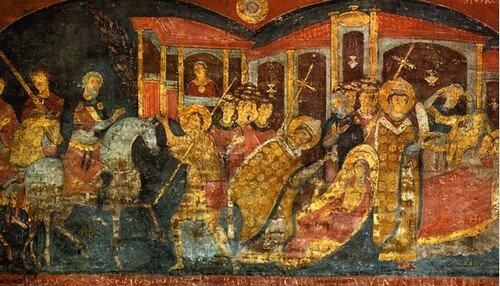Базилика Святого Клементия. Нижний уровень IV века