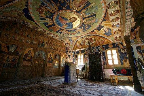 Церковь святого Николая в Будешти