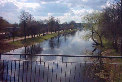 Канал Огинского Слоним Беларусь