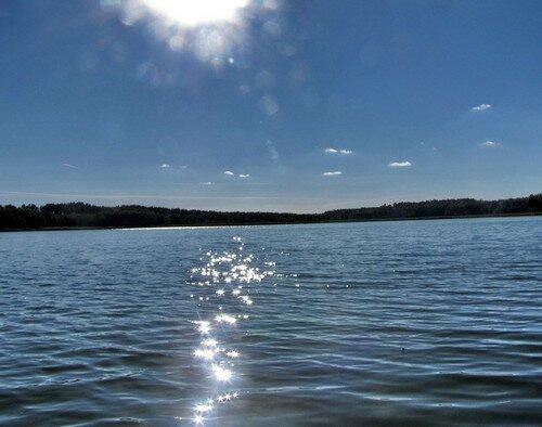 Озеро Бездонное, Слонимский район Беларусь