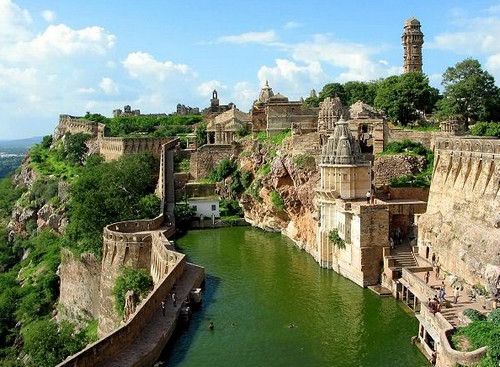 Форт Читторгарх, Индия