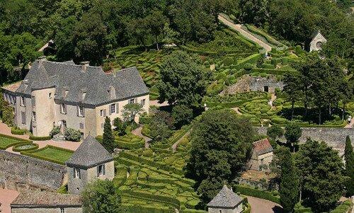 Сады Маркессак, Дордонь Франция