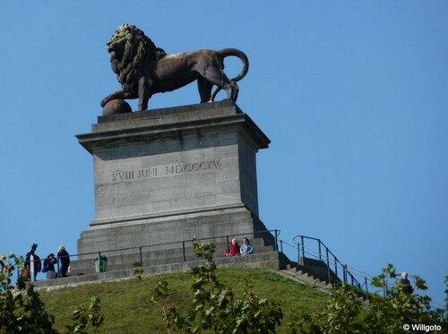 Холм Льва в Ватерлоо, Бельгия