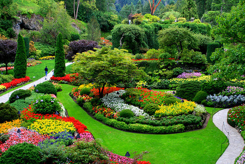 Сады Бутчартов, Канада