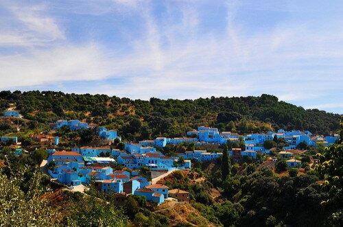 город Смурфов Хускар, Андалусия