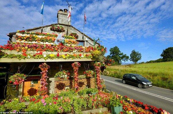 цветочный дом Анны и Робина Стрейндж