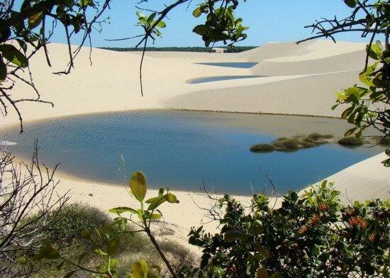 Национальный парк Ленсойс Мараньенсес (Len??is Maranhenses) Бразилия
