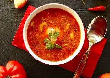 Португальский рыбный суп из трески